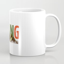 Hiking Nature Mountains Forest Coffee Mug