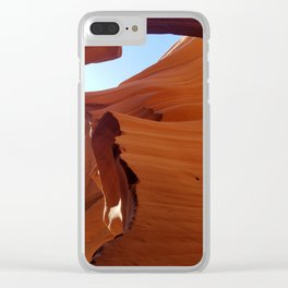Antelope Canyon #5 Clear iPhone Case