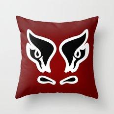 Bull's Eyes - Digital Work Throw Pillow