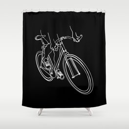 Fixed Love Shower Curtain