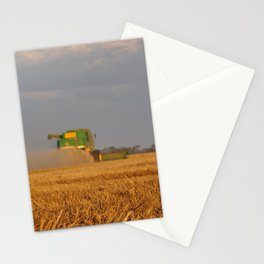 Wheat Harvesting  Stationery Cards