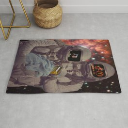 Portrait of an American Spacefam Rug