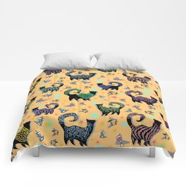Fabulous Snobby Cats 2 Comforters