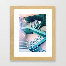 Stair of green Framed Art Print