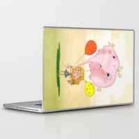 balloon Laptop & iPad Skins featuring balloon by José Luis Guerrero