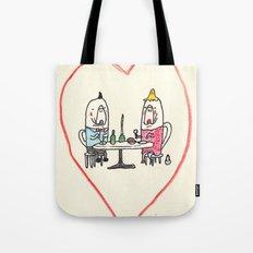 Manatee Date Tote Bag