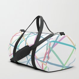 Lazer Dance Colorful Duffle Bag