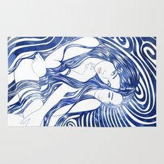 Water Nymphs Rug