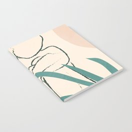 Minimal Line in Nature I Notebook