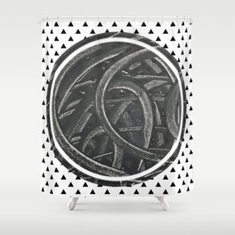 Junction - Graphic 1 Shower Curtain