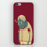 drunk iPhone & iPod Skins featuring Drunk by Renato Klieger Gennari