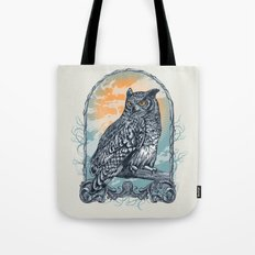 Twilight Owl Tote Bag