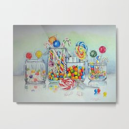 CANDY TEMPTATION Metal Print