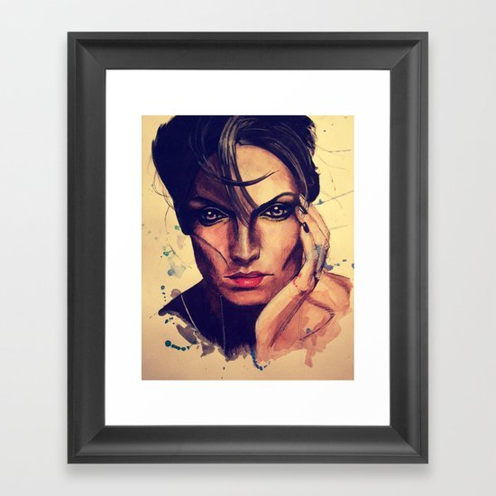 Adamantine Framed Art Print