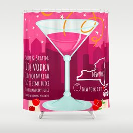 Cosmopolitan Shower Curtain