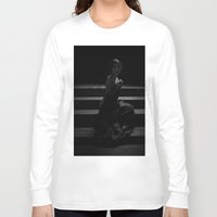 shadow Long Sleeve T-shirts featuring Shadow by Red Drago