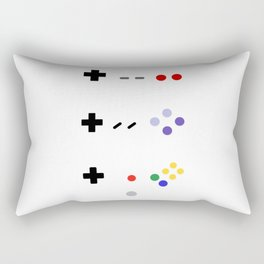 90's gaming Rectangular Pillow