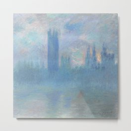 Monet, The Houses of Parliament, London, 1900-1093 Metal Print