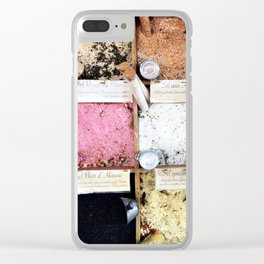 Foodie salts, Nice France Clear iPhone Case