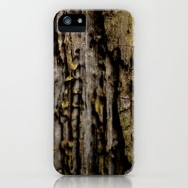 Old Wood Close up iPhone Case