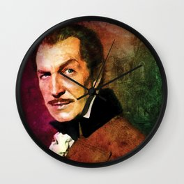Vincent Price #2 Wall Clock