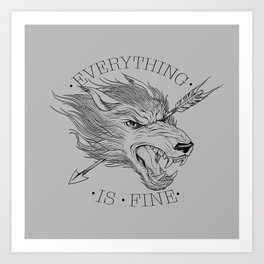 Everything is Fine Kunstdrucke