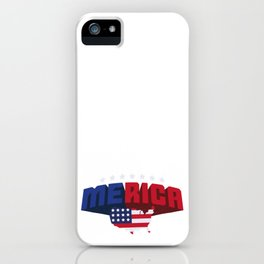 4th Of July Independence Day Merica iPhone Case