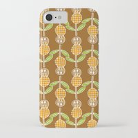 70s iPhone & iPod Cases featuring 70s Flowers by Apple Kaur
