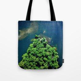 Archipelago Island - Aerial Photography Tote Bag