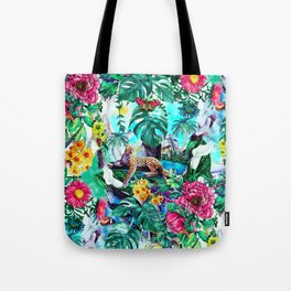 Tropical Jungle II Tote Bag