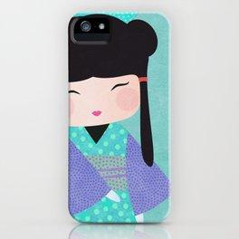 Koeshi Yoko gros plan iPhone Case