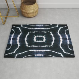SHIBORI - CASTLE OF GLASS - INDIGO Rug