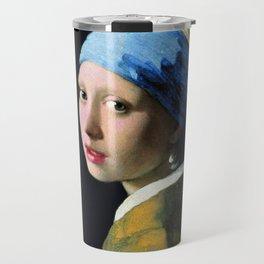 Vermeer - Girl with a Pearl Earring Travel Mug
