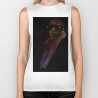 jay z Biker Tanks featuring Jay-Z Color by William