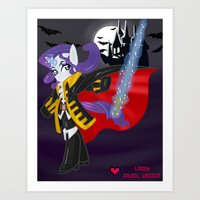 castlevania Art Prints featuring Castlevania Symphony of the Night: Rarity by Lady Pixel Heart