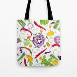 Vegetables pattern (5) Tote Bag