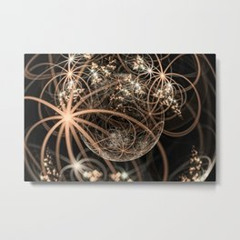 Dragon Spheres Metal Print