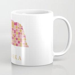 Nebraska map Coffee Mug