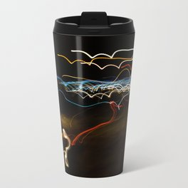black shooter Travel Mug