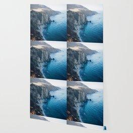 Hidden Beach - Beach Cliffs Wallpaper