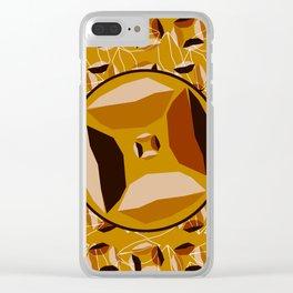 Africana Eye Clear iPhone Case