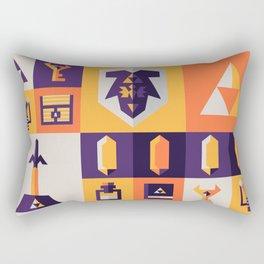 Legend of Zelda Items Rectangular Pillow