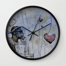 Classic Material Series -  Bleeding Hearts Club (c.2007) Wall Clock