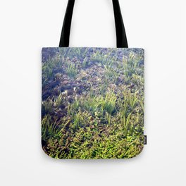 Going With The Flow River Aquarium Tote Bag