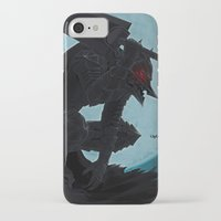 berserk iPhone & iPod Cases featuring Berserk Armor by Yvan Quinet