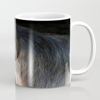 ram Mugs featuring Ram by Veronika