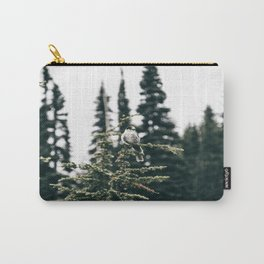 Grey Jay in The Trees Carry-All Pouch
