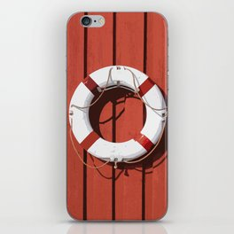 Life saver 2 iPhone Skin