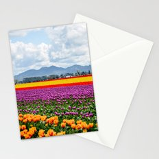 Bright Fields and Mountains Stationery Cards