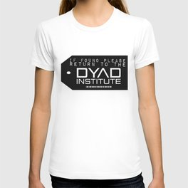 If found Return to the DYAD T-shirt